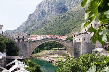 De brug 'Stari Most' in Bosnië sur Sander Meijering