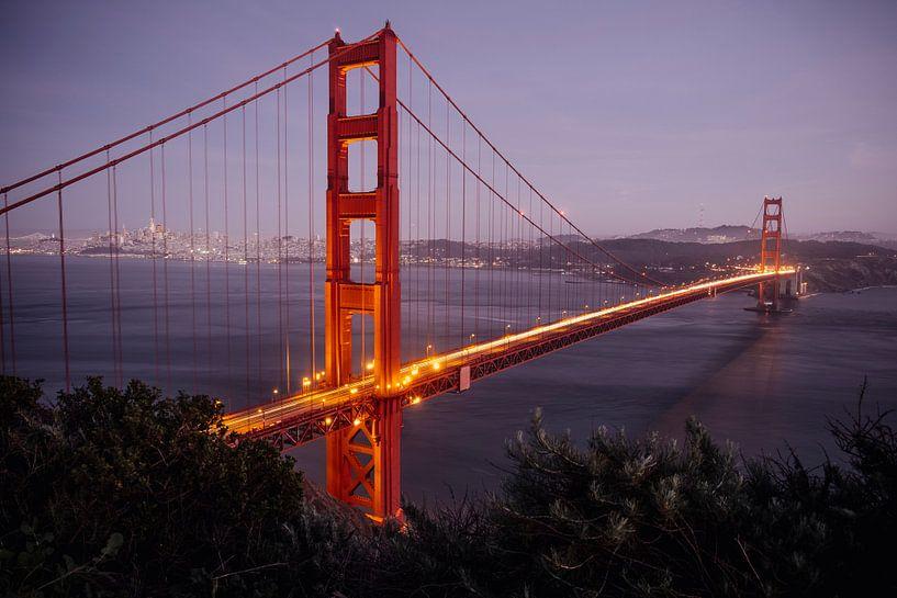 Golden Gate bridge van Jasper Verolme