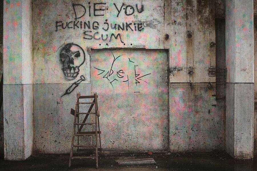 Graffiti, Junkie Scum I