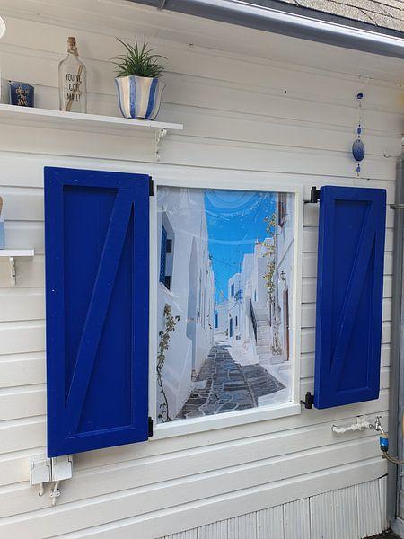 Klantfoto: Lefkes, Paros, Griekenland van Joep Brocker, op fotoprint