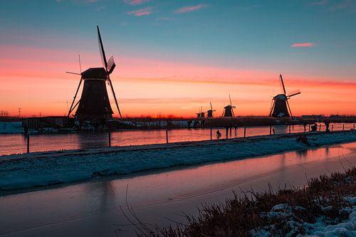 Kinderdijk winter 5