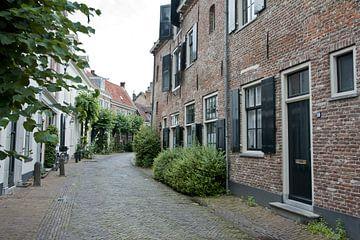 Straat in Amersfoort van Renate Coenen
