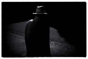 Hamburg Hat Film Noir style van Peter Nijsen