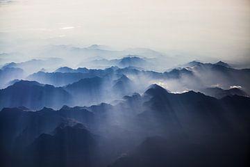 De natuur tijdens zonsopkomst in Zwitserland sur Stefan Lucassen