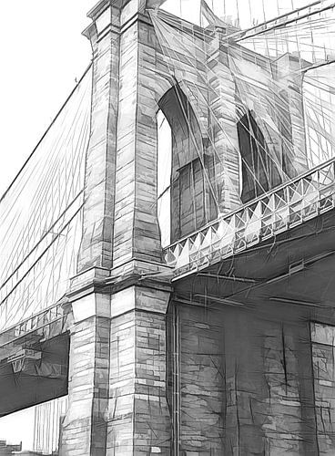 Brooklyn Bridge von Joris Pannemans - Loris Photography