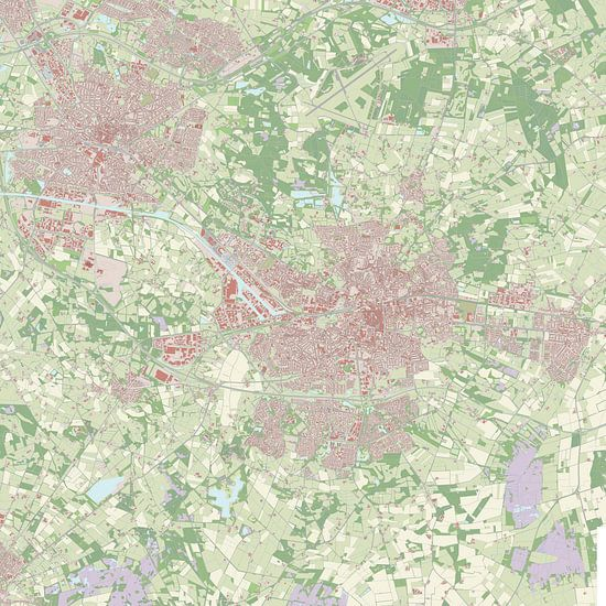 Kaart vanEnschede