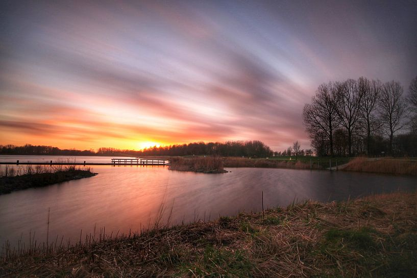 Sky on Fire van Maurice Hoogeboom
