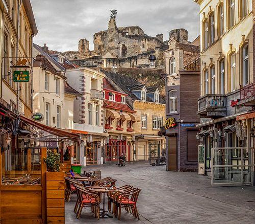 Centrum Valkenburg met Burcht
