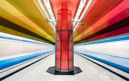 München Subway sur Martijn Kort