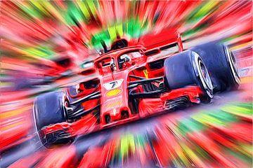 Kimi Räikkönen sur DeVerviers