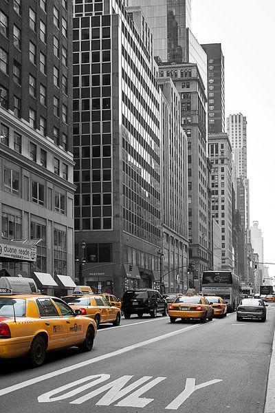 Yellow Cabs van John Bouma