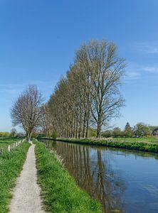 Sentier de randonnée dans la plaine inondable de la Niers près de Wachtendonk sur Peter Eckert
