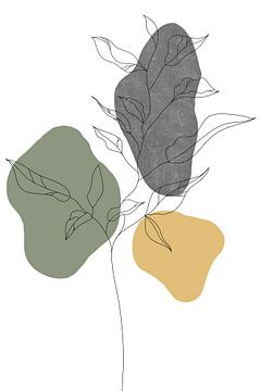 Wildblume Winter I von Munich Art Prints