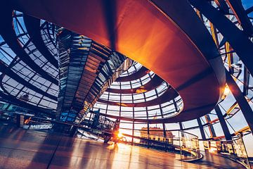 Berlin - Reichstag Dome van
