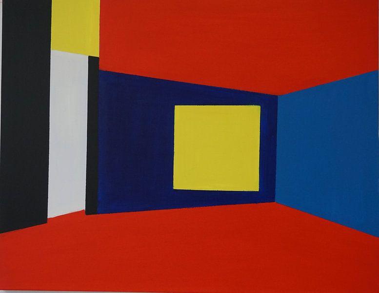 De abstracte ruimte von Bart Langeveld