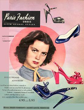 Schuhwerbung von 1951 von Atelier Liesjes