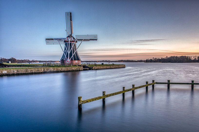Aider le moulin sur Wil de Boer