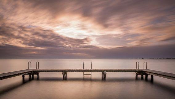 Sittin' on the dock of the bay van Philippe Velghe