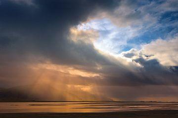 Sonnenaufgang Höfn, Island von Henk Meijer Photography