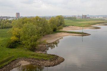 De Rijn bij Arnhem van Jan-Matthijs van Belzen
