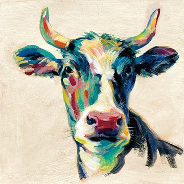 Expressionistische Cow II, Silvia Vassileva von Wild Apple