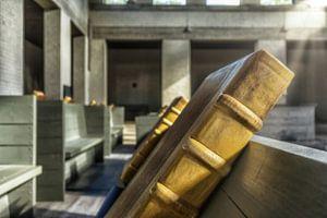Koorboeken in klooster Mamelis