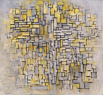 Compositie VII, Piet Mondriaan - 1913 van Het Archief