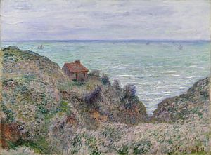 Cabine van de douane-Watch, Claude Monet van Meesterlijcke Meesters
