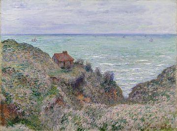 Chalet du Guet des douanes, Claude Monet sur