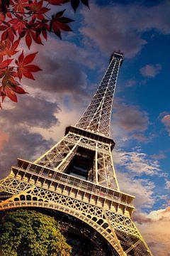 Paris eifeltoren van H.m. Soetens