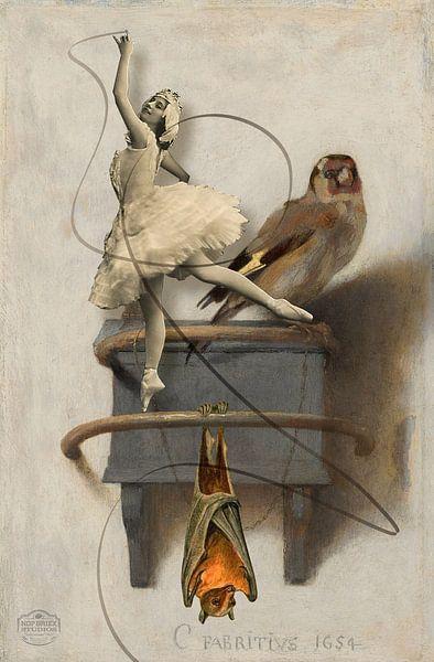 Der Gimpel, der Schläger und die Ballerina von Nop Briex