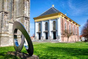 Nieuwe kerk in Zierikzee in HDR