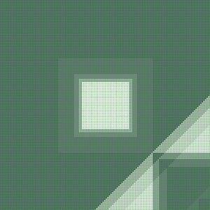 Patroon groene stippen