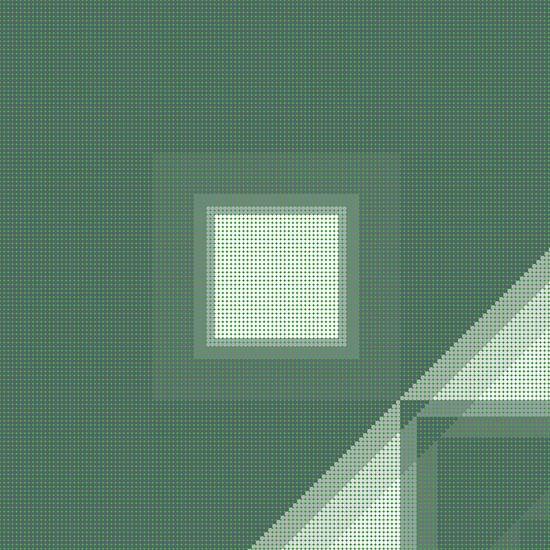 Muster grün Punkte von Marion Tenbergen