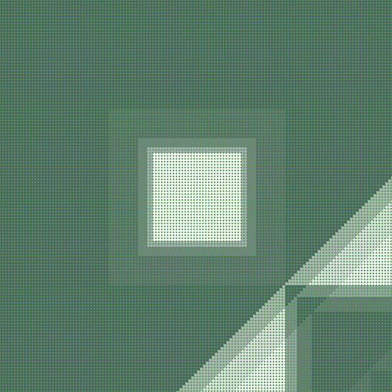 Muster grün Punkte