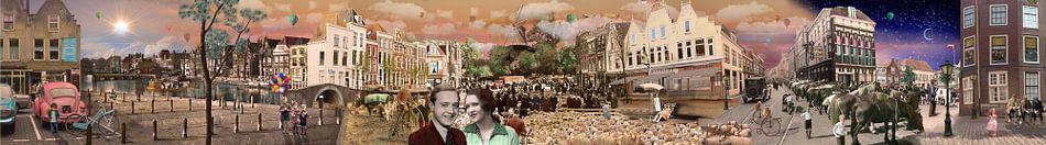 Beestenmarkt Leiden van Barbara van Druten