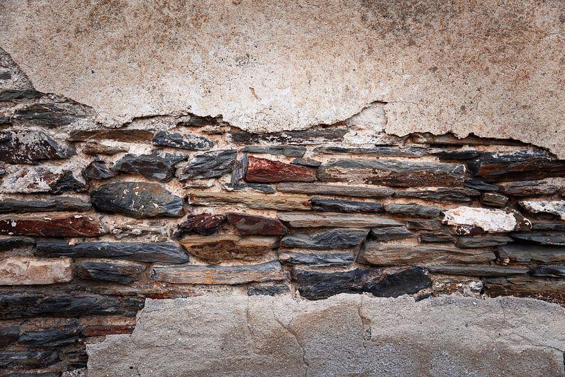 Steinmauer von John Groen