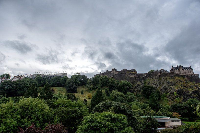 Edinburgh castle van Jeffrey de Graaf