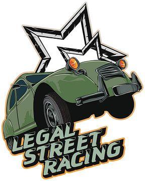 ENTE - 2CV - Legal Street Racing von ADLER & Co / Caj Kessler