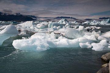 IJsmeer Jokulsarlon IJsland van