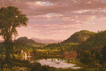 Neuengland-Landschaft, Frederic Edwin Church