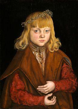 Ein Prinz von Sachsen, Lucas Cranach der Ältere von