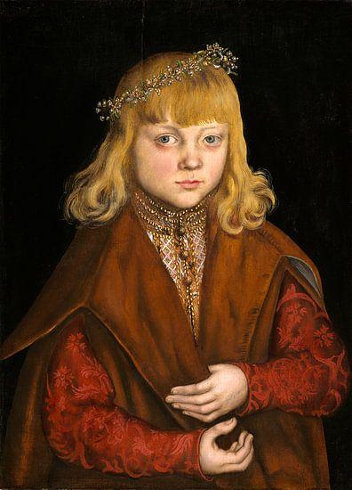 een prins van Saksen, Lucas Cranach de Oude