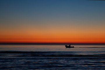 Sonnenuntergang am Meer von Eus Driessen