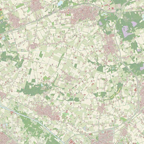 Kaart vanBernheze