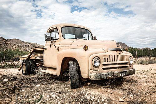 Oude Amerikaanse auto