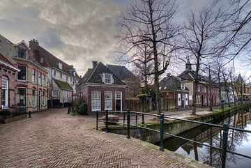 Muurhuizen und Kortegracht historisch Amersfoort von Watze D. de Haan