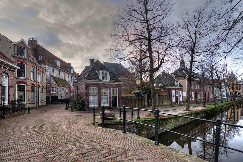 Muurhuizen en Kortegracht historisch Amersfoort van Watze D. de Haan