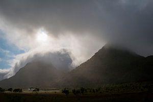 Donkere luchten op de Lofoten  van