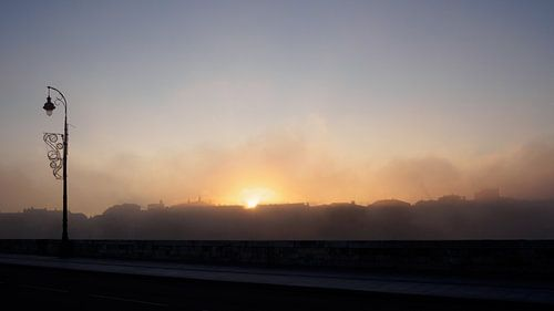 Sunrise at Le Pont Neuf, Toulouse von